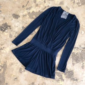 Young Fabulous & Broke Navy Blue Howell Romper